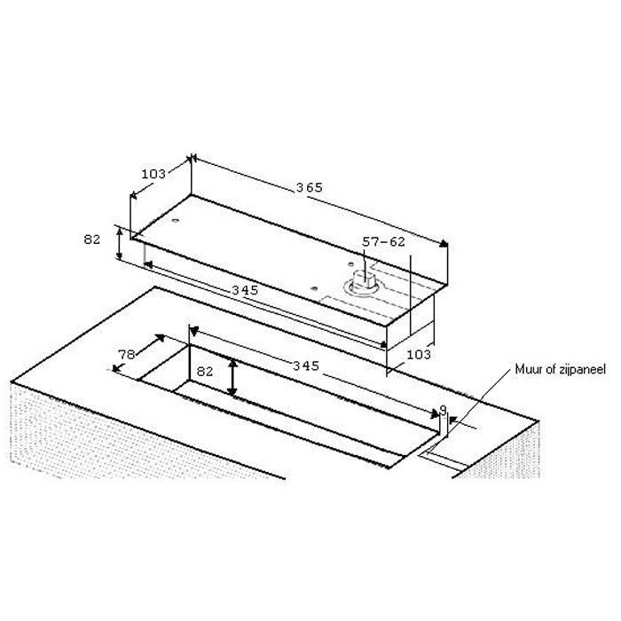 vloerveer assa abloy 00755. Black Bedroom Furniture Sets. Home Design Ideas