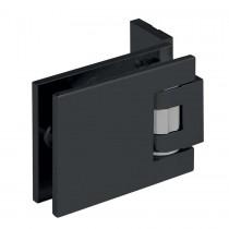 Douchescharnier 013760RSQ-52 mat zwart RAL9005