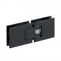 Douchescharnier mat zwart RAL9005