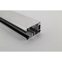 Pext profielset met onderprofiel 7,5mm en zijsluitprofiel voor 16mm