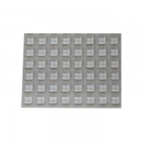 50.A6200088 Siliconen kussentjes 20.5 x 7.5mm