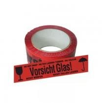 50.A9210036 Waarschuwingsband Vorsicht glas