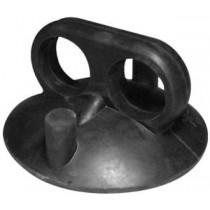 Glaszuiger van rubber