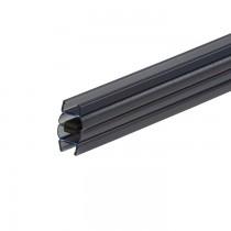 magneetprofiel zwart 148850/8-52