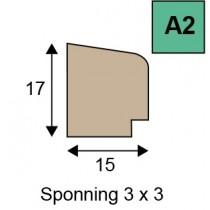 A2 glaslatten geoptimaliseerd hout