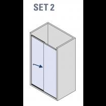 BX-4000 Linea 30 Nis schuifdeur systeem (set 2)