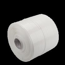 Coroplast haspel glasband wit