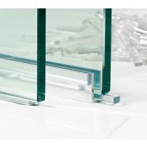 Kunststof transparante blokjes