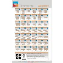 Glaslattenkaart Timmers BV