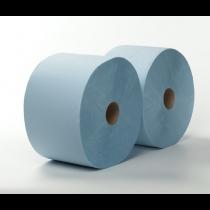 Maxirol 2-laags poetspapier verlijmd