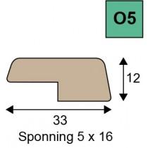 O5 opdeklatten geoptimaliseerd hout