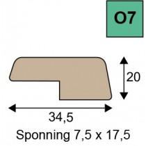 O7 openklapten geoptimaliseerd hout