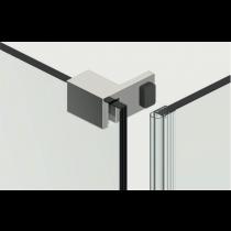 Deurstopper voor dubbelwerkende deur - links