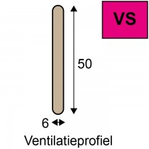 Ventistone VS-Ventilatieprofiel